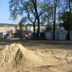 Rohbau Stadthalle Greiz bis zum Richtfest