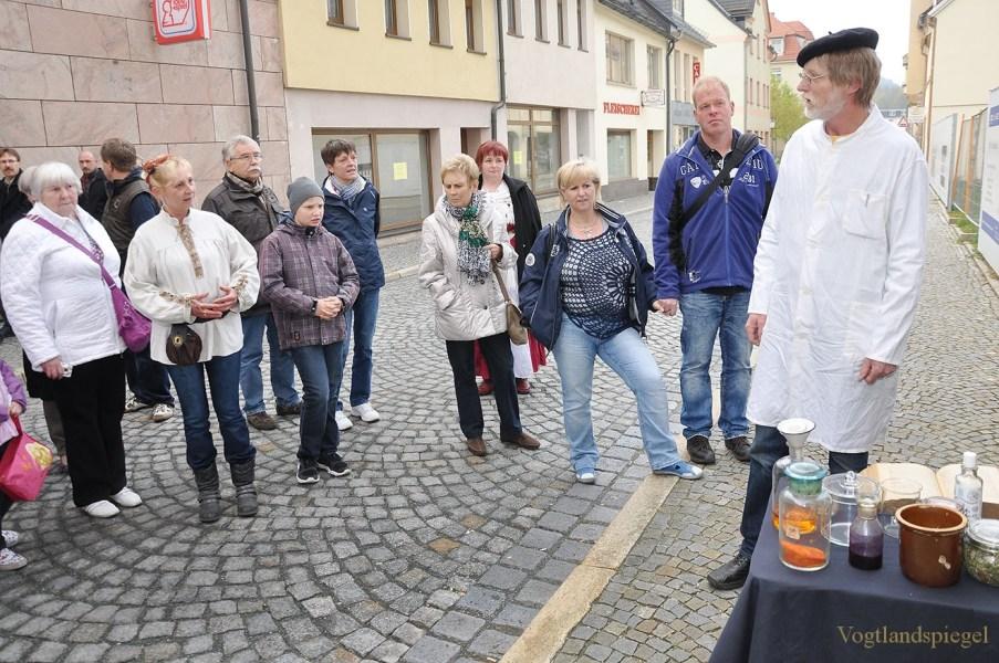 Die Historische Stadtführung durch Greiz