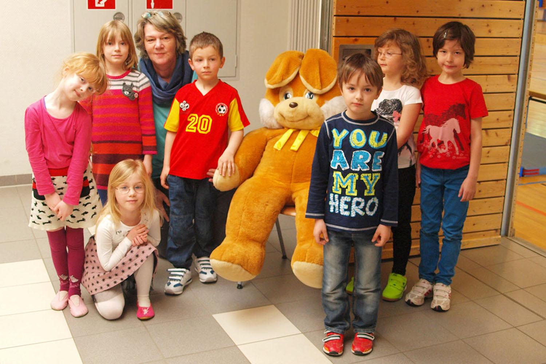 Osterhase grüßte Greizer Kindergartenkinder