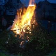Hexenqualm und Teufelsfeuer an der Gommlaer Wendeschleife