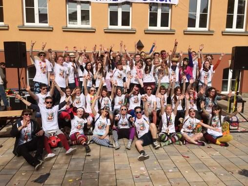 Greizer Abiturienten feiern ausgelassen den letzten Schultag