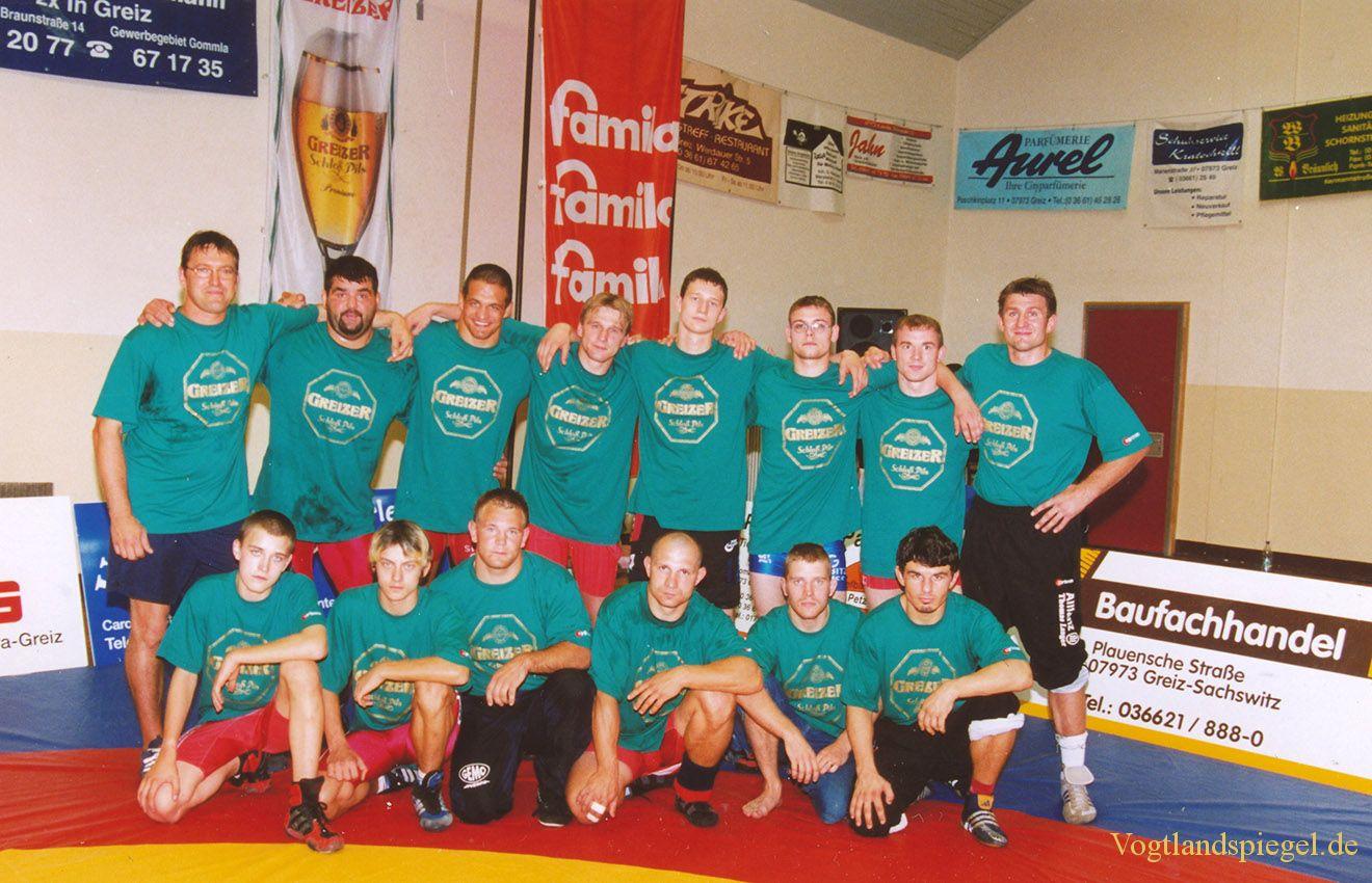 1.Bundesliga Ringen 2004 in Greiz