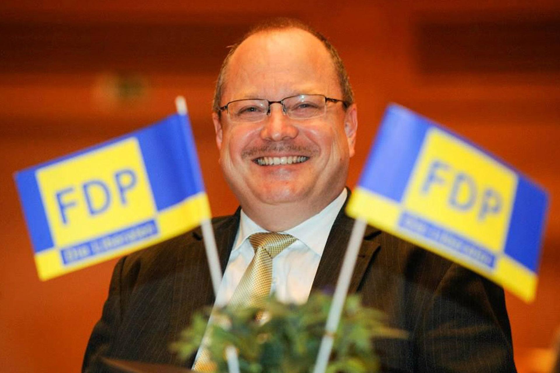 FDP-Landtagsabgeordnete Dirk Bergner