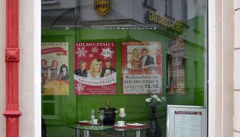Hilmo-Stad'l wirbt in Greizer Innenstadt