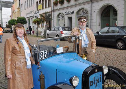 Erfolgreiche Oldtimerausfahrt des Historischen Rennsportclubs Greiz/Neumühle im ADAC