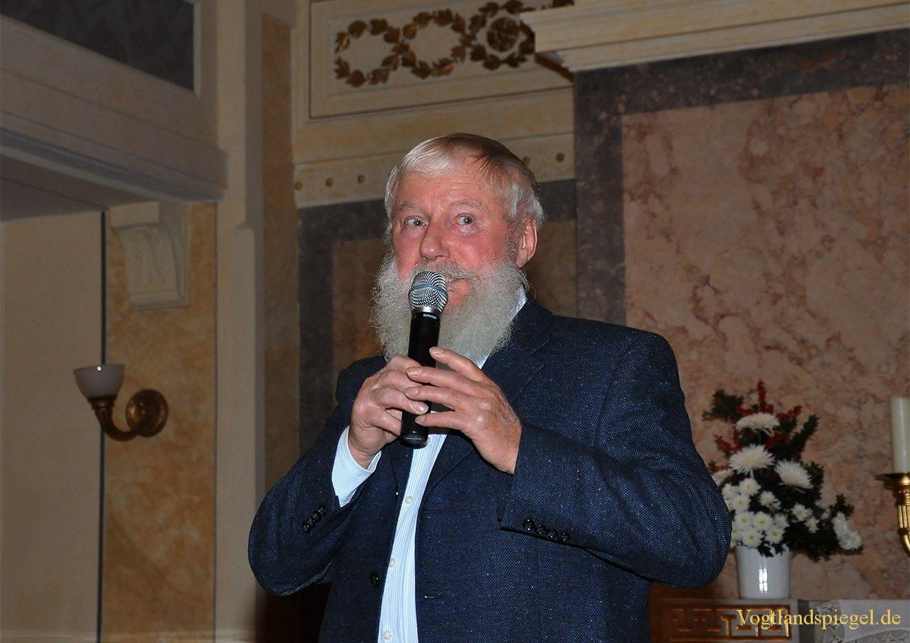 Prominente im Gespräch in der Greizer Stadtkirche