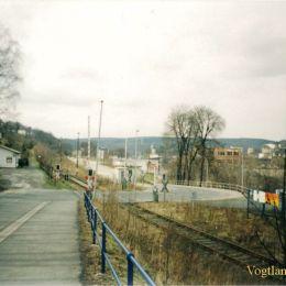 Die Bahnlinie Neumark - Greiz