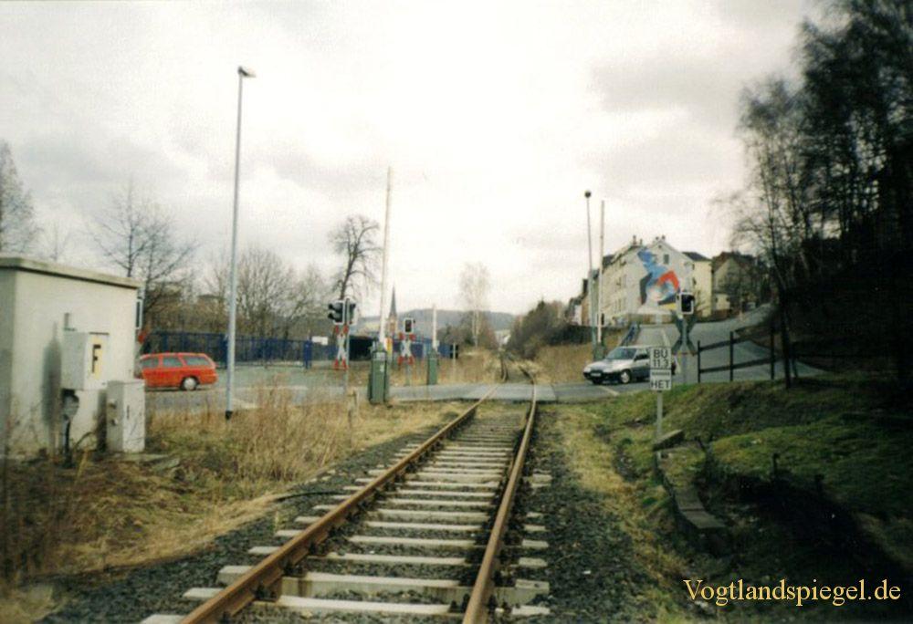 Die Bahnlinie Neumark – Greiz