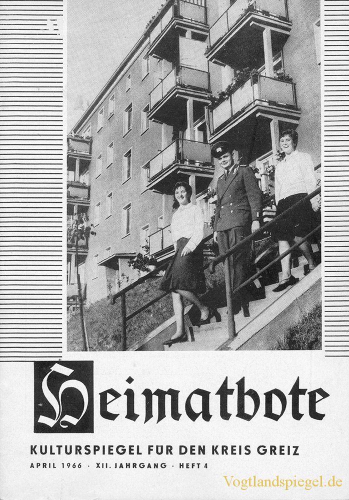Greizer Heimatbote April 1966
