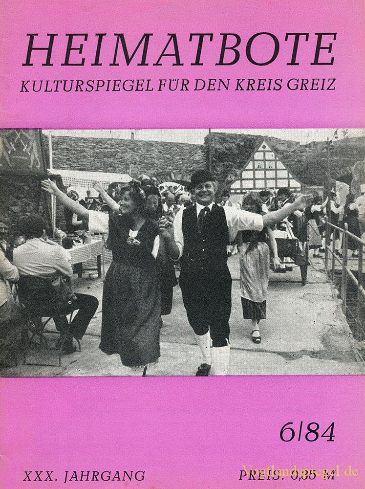 Greizer Heimatbote Juni 1984