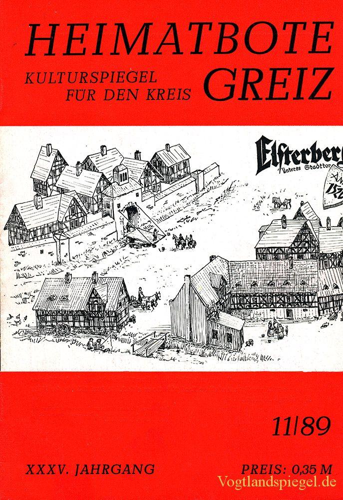 Greizer Heimatbote November 1989
