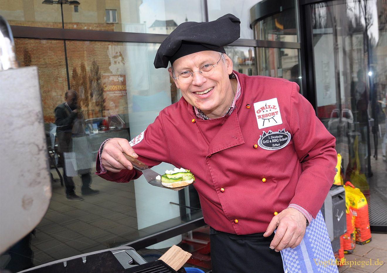 Kulinarisches zum 3. Multivisions Festival in der Vogtlandhalle Greiz