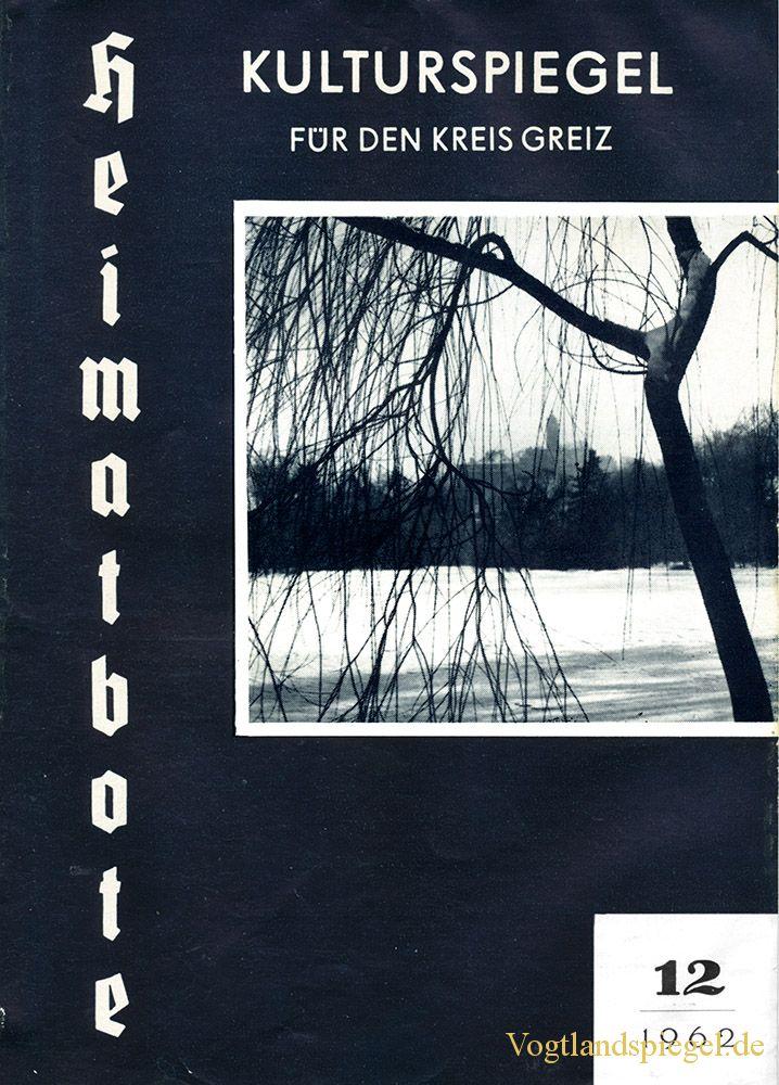 Greizer Heimatbote Dezember 1962