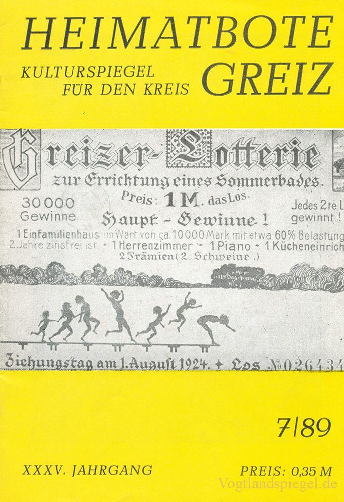 Greizer Heimatbote Juli 1989