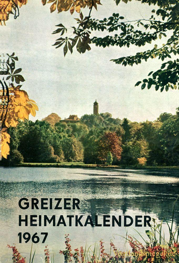 Greizer Heimatkalender 1967