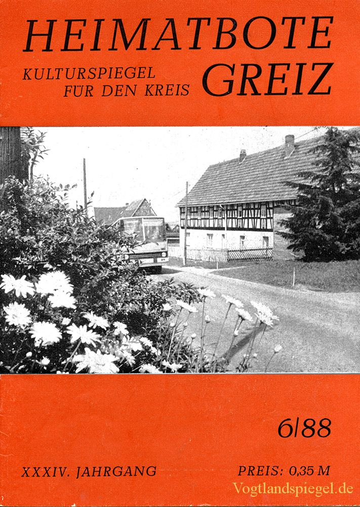 Greizer Heimatbote Juni 1988