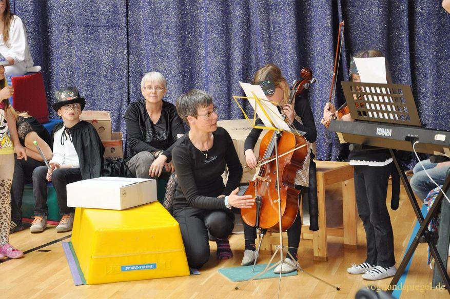 Obergrochlitzer Grund-und Carolinenschüler mit tollem Musical-Projekt