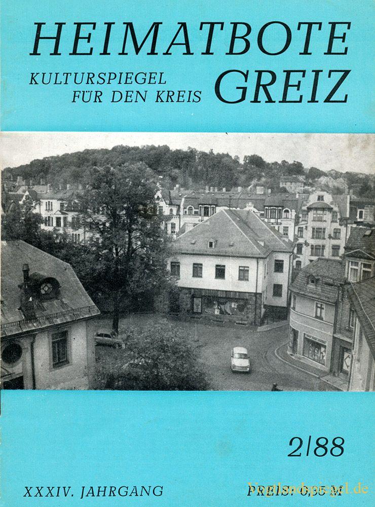 Greizer Heimatbote Februar 1988