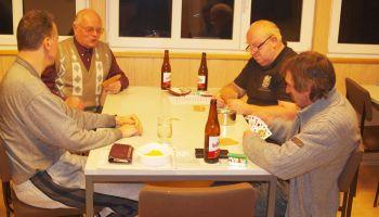 Ulrich Geyer holte Sieg in dritter Runde des Gommlaer Skatturniers
