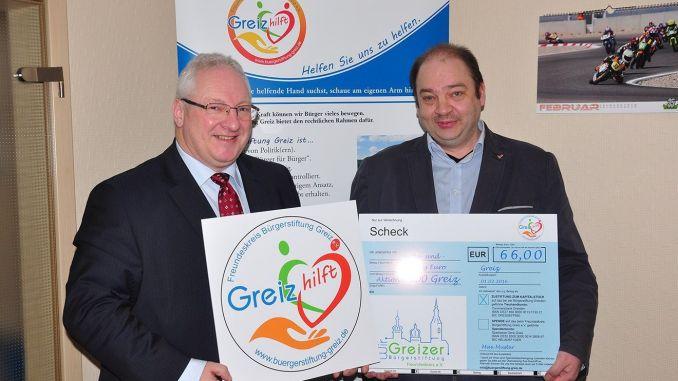 Freundeskreis Bürgerstiftung Greiz: Rück-und Ausblicke
