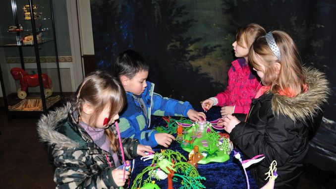 Elsterberger Hortkinder besuchen Playmobil-Ausstellung