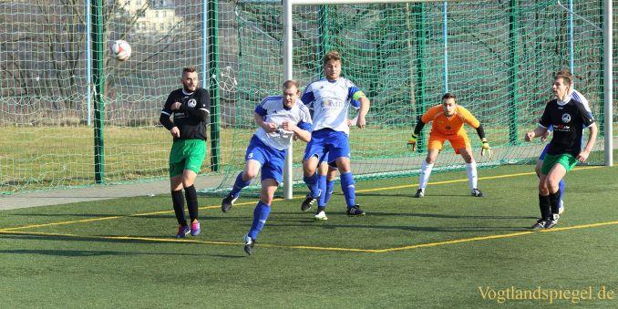 Fußball Landesklasse: 1. FC Greiz gegen TSV Bad Blankenburg - 3:0