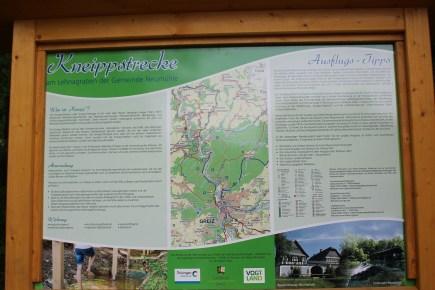 Natur-Kneippstrecke in Lehnamühle eingeweiht
