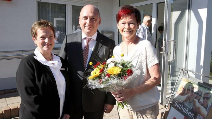 Sparkasse in Sachswitz wieder eröffnet