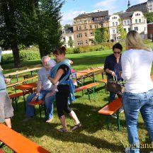 Entspanntes Bürgerfrühstück im Greizer Goethepark