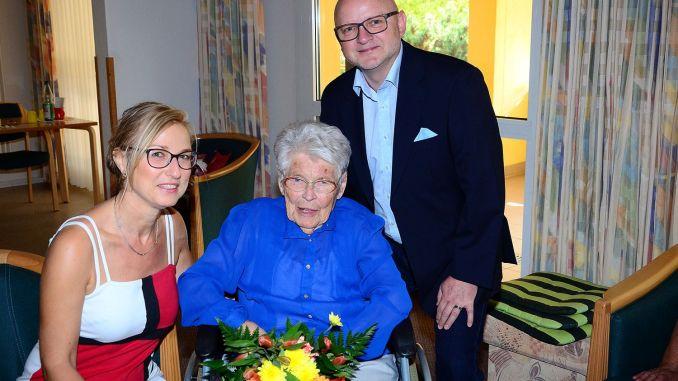 Greizerin Anna Hampel beging ihren 100. Geburtstag