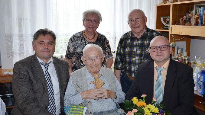 Johannes Schleich begeht 101. Geburtstag