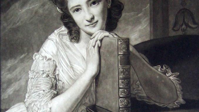 Junge Frau mit Buch