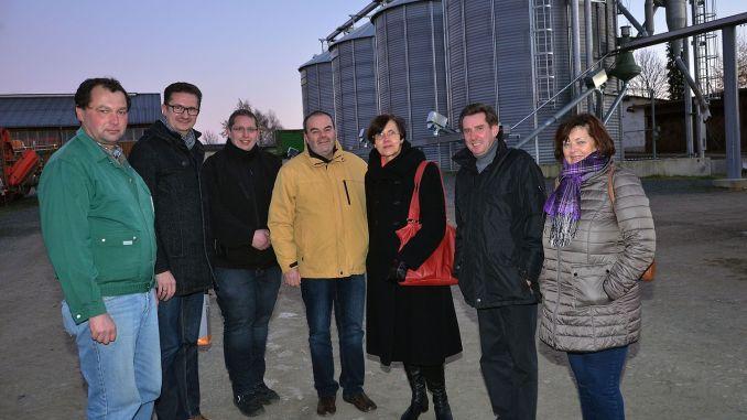Greizer CDU-Ortsverein besucht RIMA-Agrofarm Moschwitz
