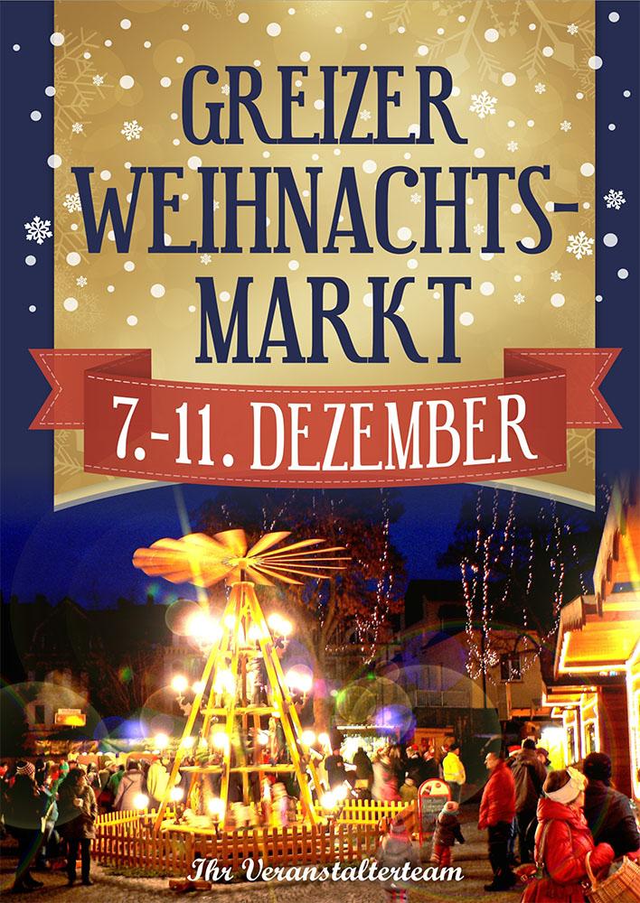 Herzlich willkommen auf dem Greizer Weihnachtsmarkt