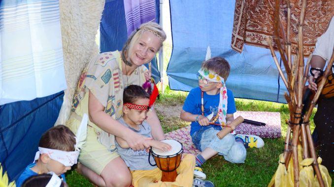 """Kita """"Juri Gagarin"""": Kindertag mit großem Indianerfest gefeiert"""