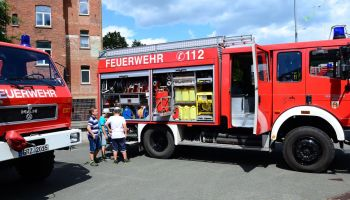Feuerwehr Greiz lud zum Tag der offenen Tür ein