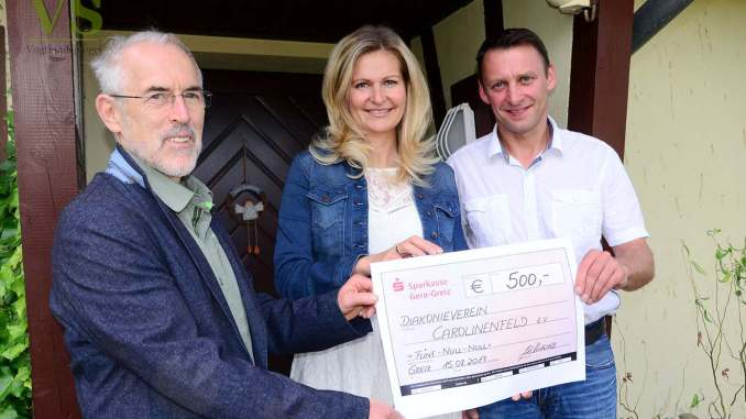 Autohaus Horlbeck unterstützt Arbeit des Diakonievereins Carolinenfeld