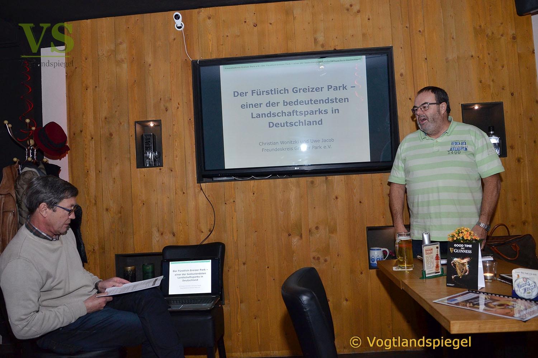 Greizer Parkfreunde luden zur öffentlichen Mitgliederversammlung ein