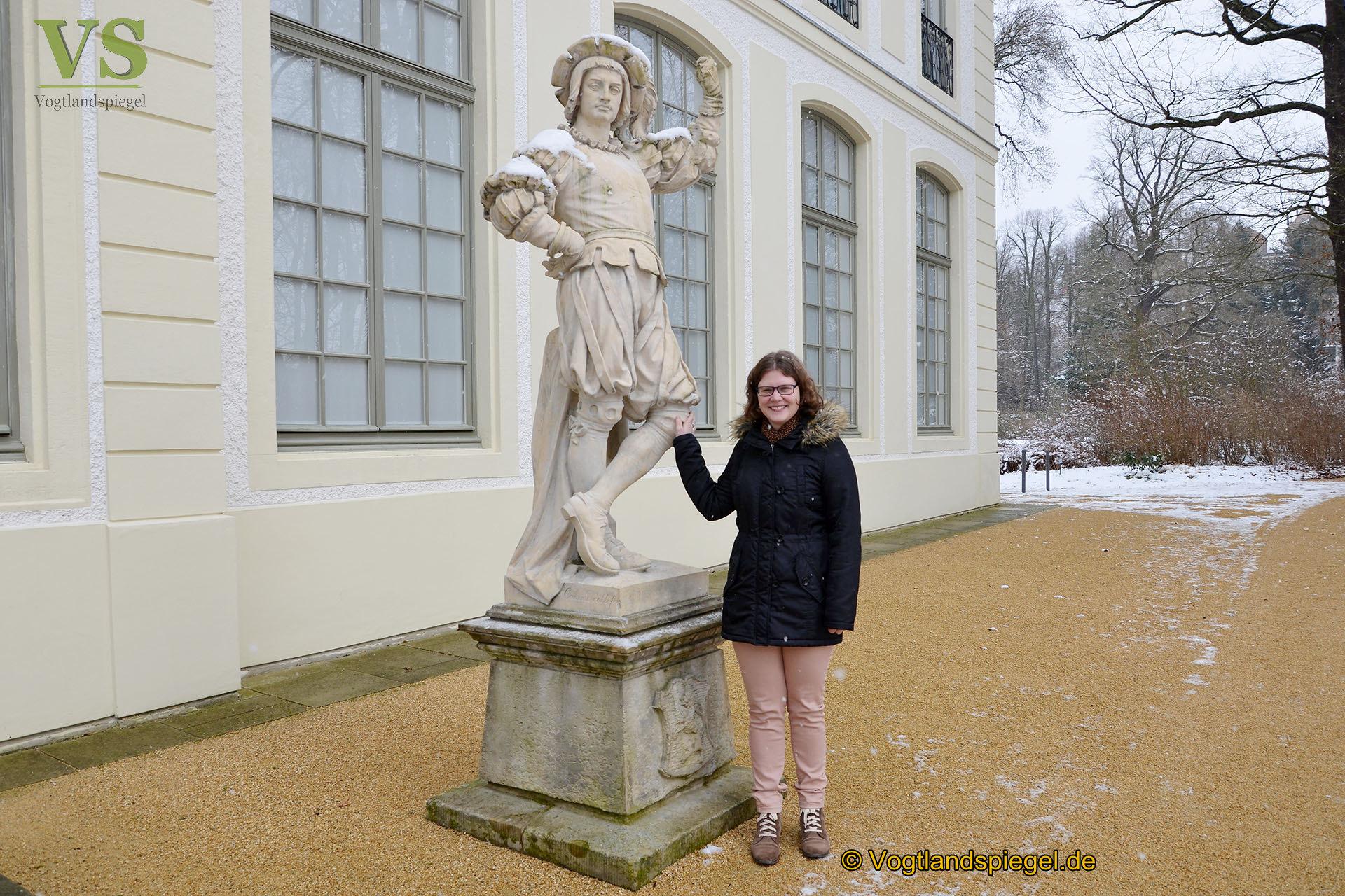 Sommerpalais Greiz: Volontärin freut sich auf Team und Projekt