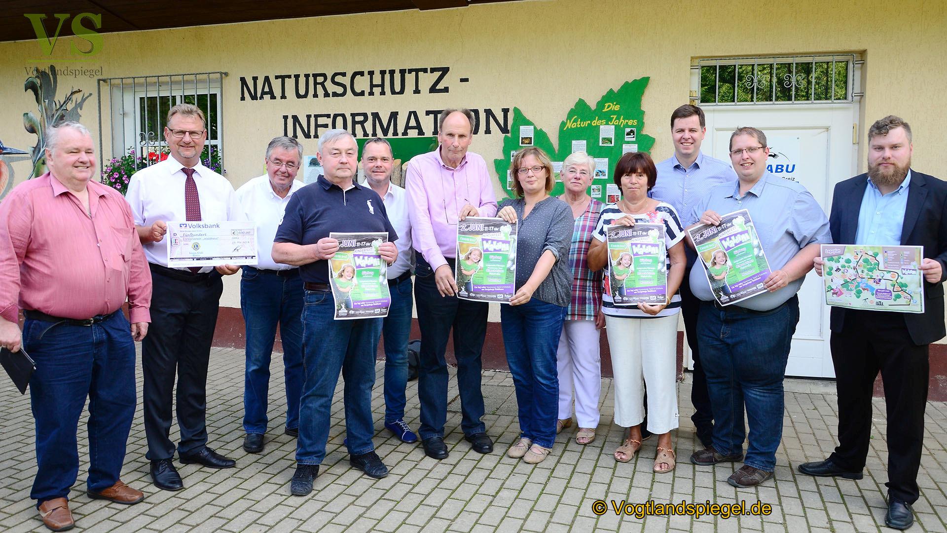 """Förderverein Waldhaus lädt zum """"Waldini""""- Kinderfest ein"""
