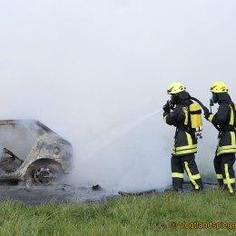 Gemeinsame Übung der Feuerwehren Pansdorf und Obergrochlitz