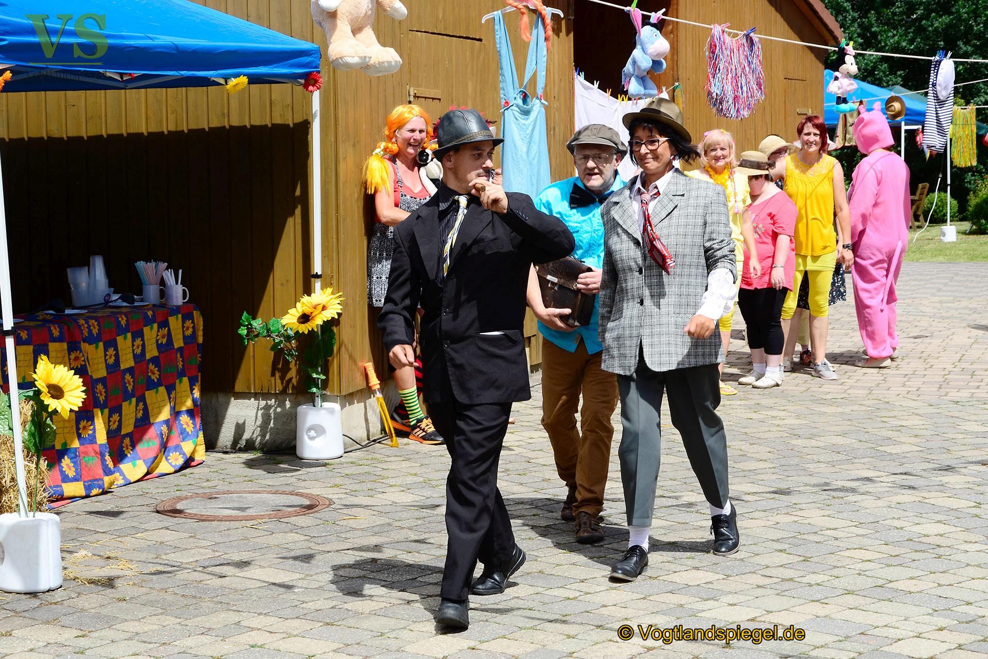 Sommerfest der Lebenshilfe Mohlsdorf: Legendäre Olsenbande gesichtet