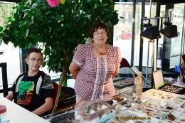 8. Mineralienbörse in der Vogtlandhalle Greiz: Wer einmal Feuer fing