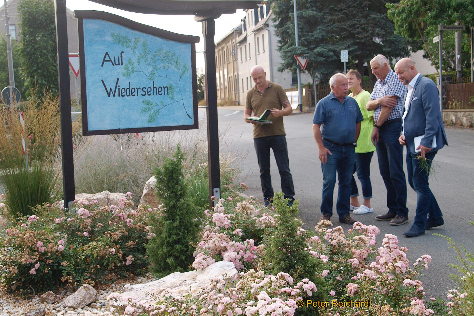 Greizer Bürgermeister Alexander Schulze besuchte Ortsteilratsberatung in Greiz-Gommla