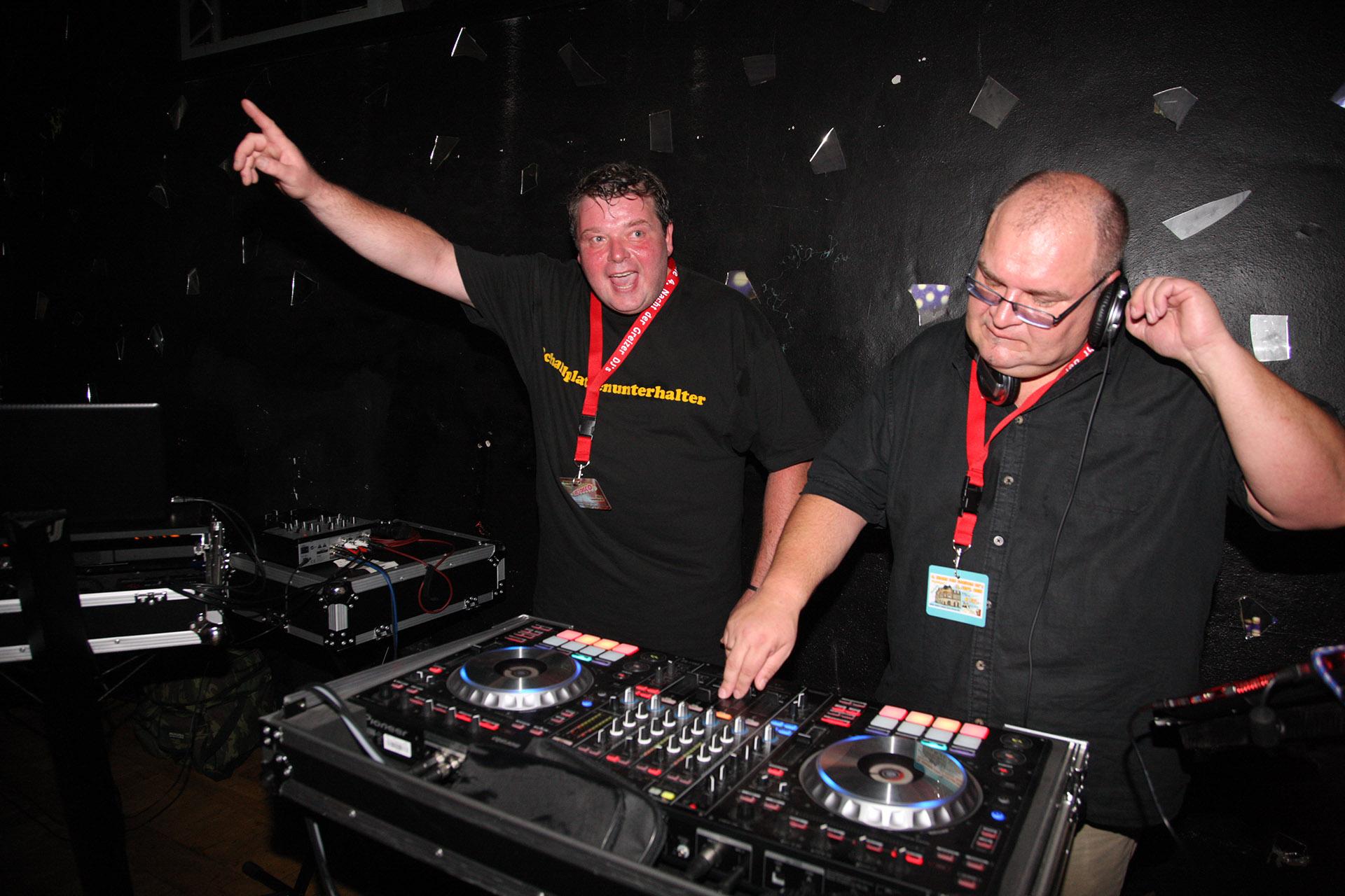 Die Nacht der Greizer DJ's: Die letzte Klappe fällt