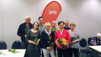 Neuer SPD-Kreisvorstand gewählt