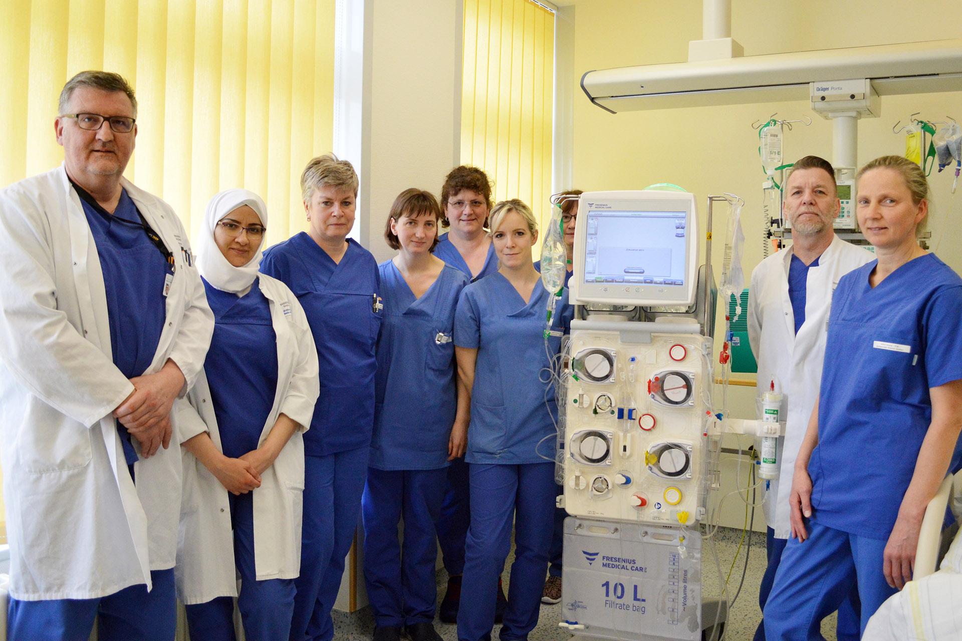 Kreiskrankenhaus Greiz: Sofortversorgung bei akutem Nierenversagen