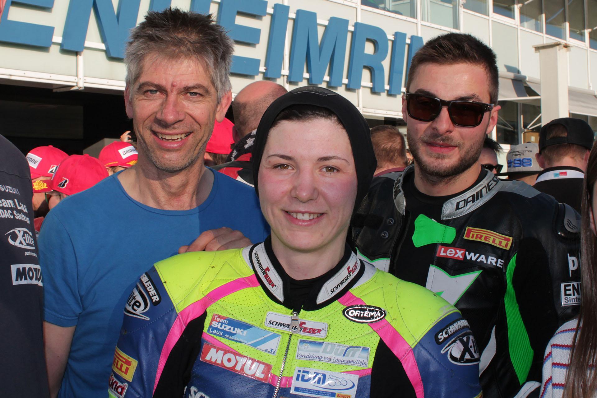 Hockenheimring: Sarah Heide aus Zwickau erfolgreich