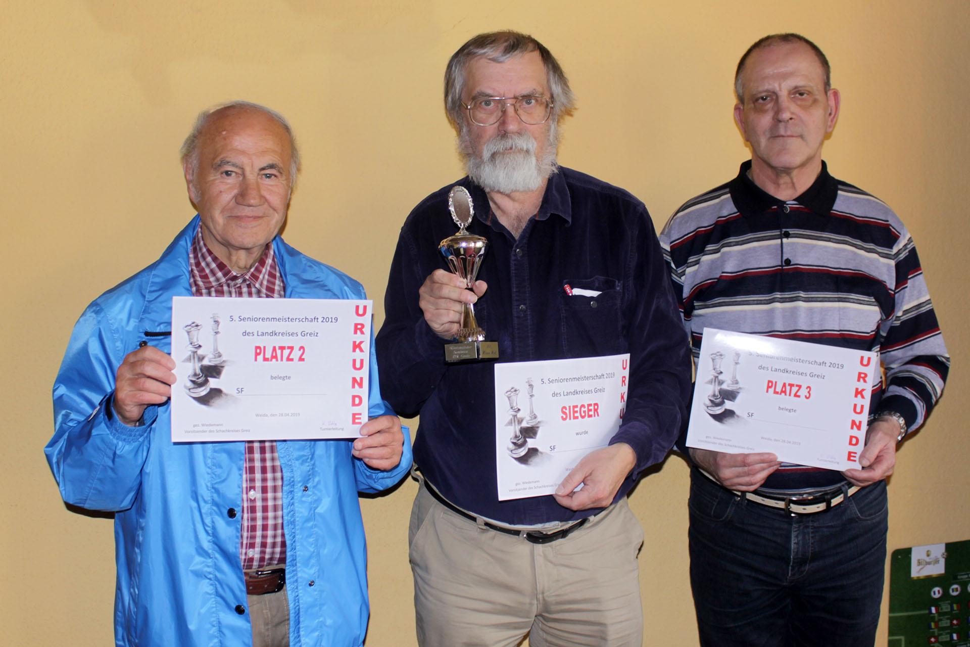 Weida: Triebeser Dreifacherfolg bei Senioren-KEM