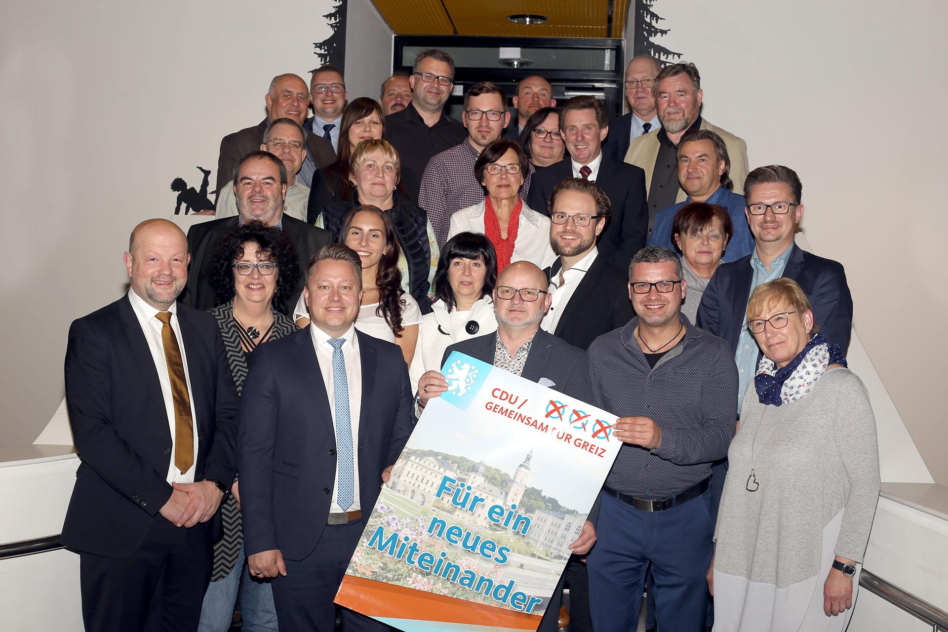 Stadtratskandidaten der CDU/Gemeinsam für Greiz diskutieren am Montag über Ziele und Wahlkampf-Kapriolen.